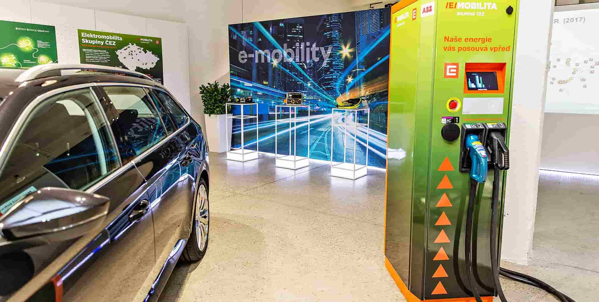 E-mobility CEZ - in article