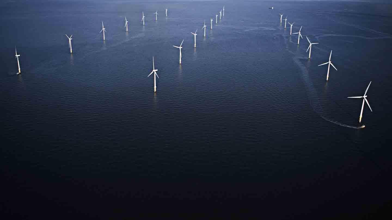 Hornsea 2 offshore wind farm in the UK