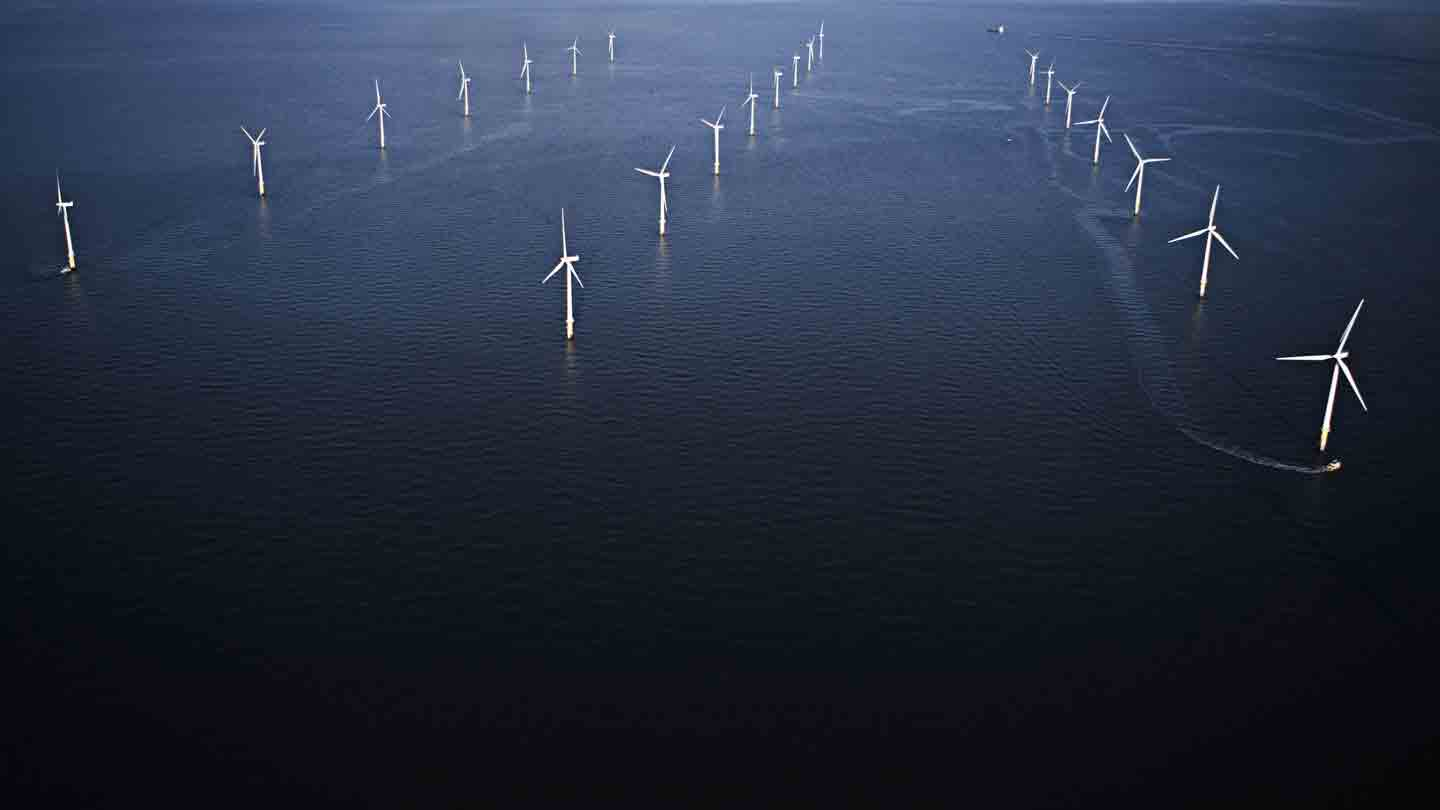 Hornsea 2 offshore wind farm in the UK