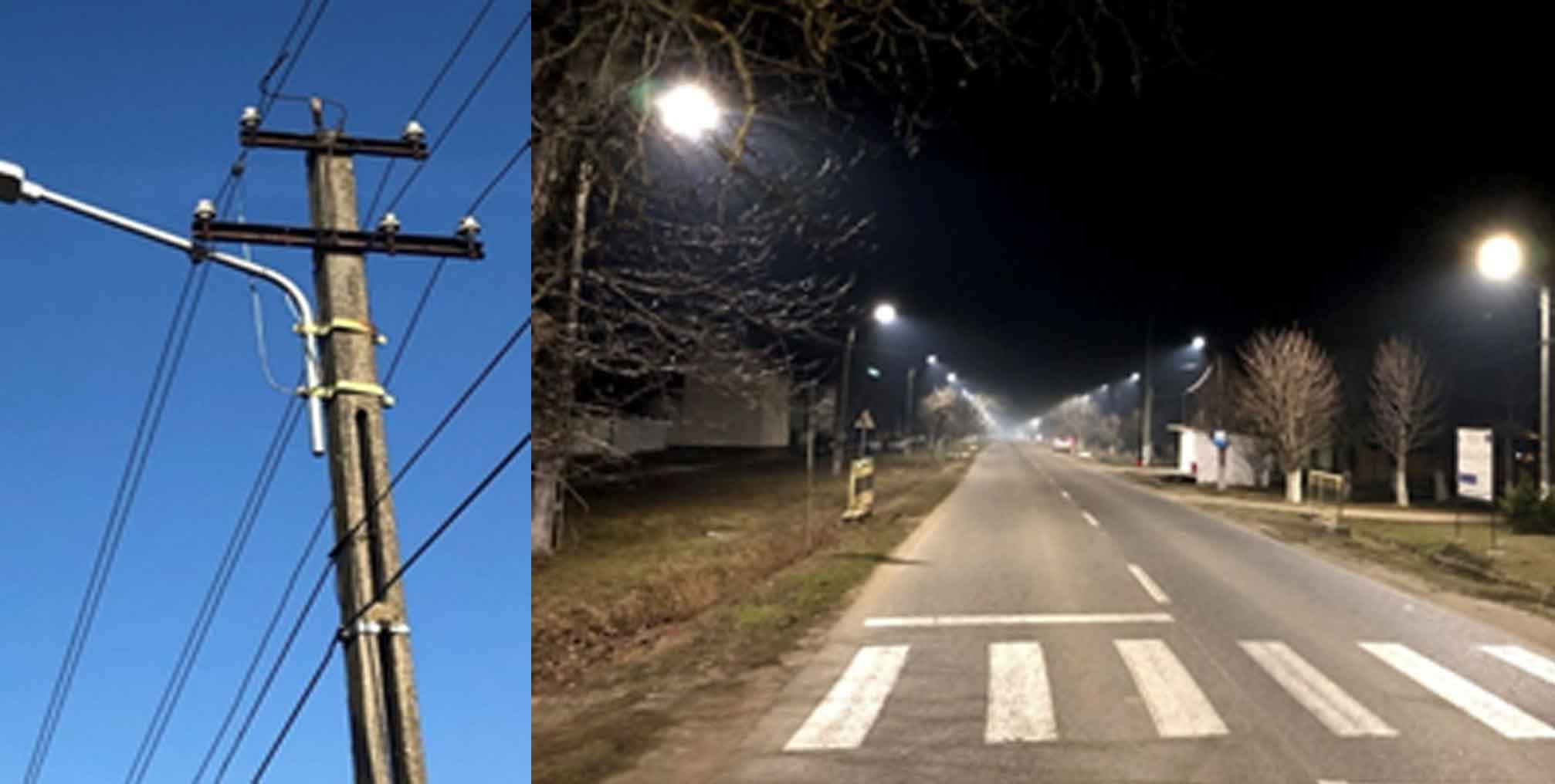Smart Village Frumuşeni / Smart Street Lighting