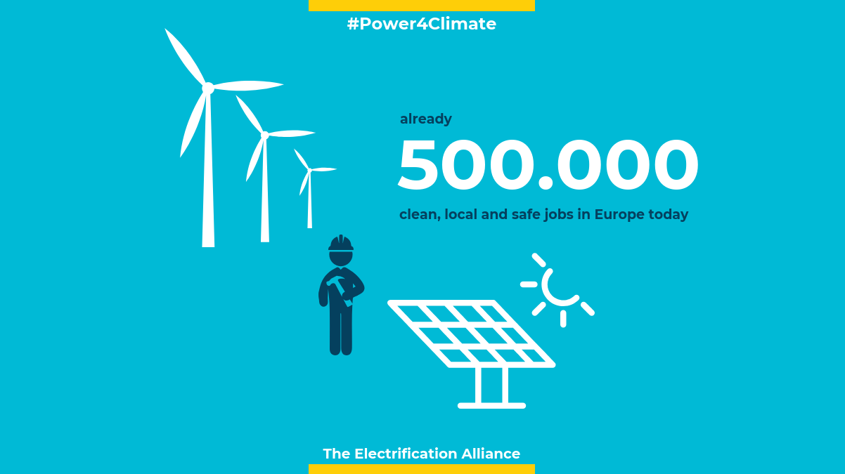 How many jobs<br />in renewable electricity?