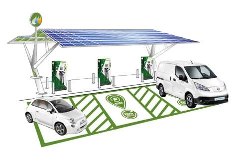 Smart Mobility and Smart Public Recharge Hub Solutions