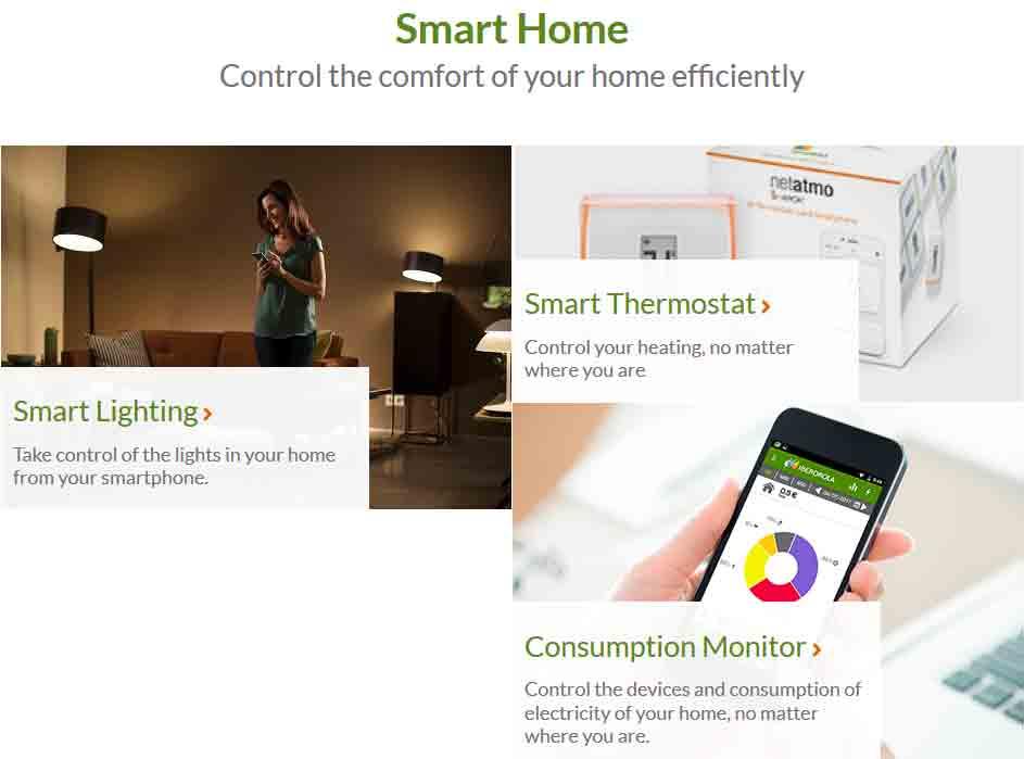 Iberdrola Smart home