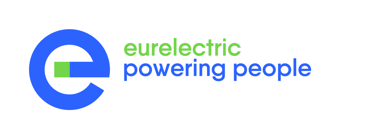 Eurelectric Powering People RGB Blue Green