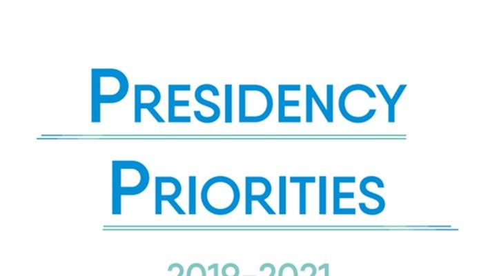 Presidency Priorities 2019-2021