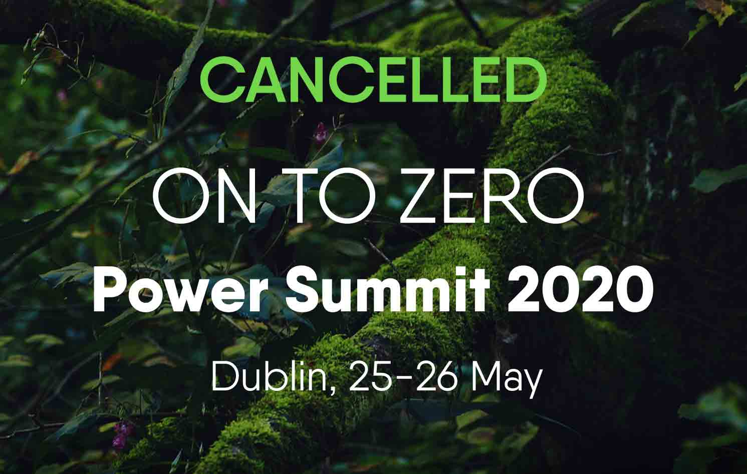Power Summit 2020 Cancelled