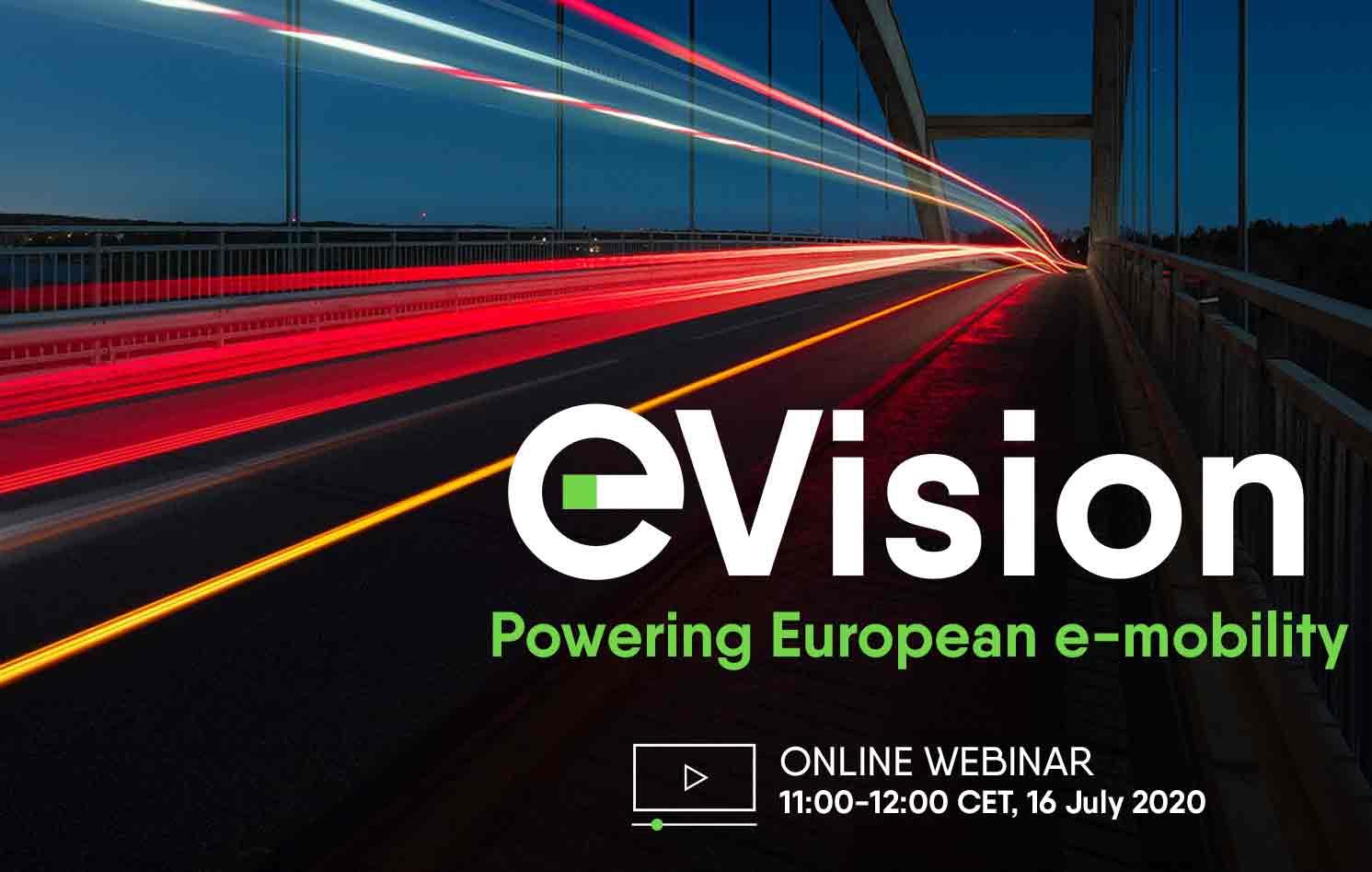 Evision Webinar Website Event